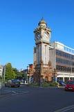 Torre de reloj en Exeter, Devon, Reino Unido imagen de archivo libre de regalías