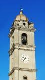 Torre de reloj en Italia Fotografía de archivo libre de regalías
