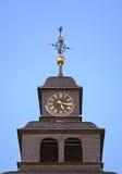 Torre de reloj en mún Homburg alemania Imagen de archivo libre de regalías