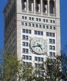 Torre de reloj en Madison Square Garden foto de archivo