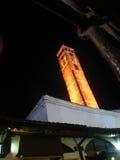 Torre de reloj en Sarajevo Fotografía de archivo