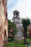 Torre de reloj en Vyborg Imagen de archivo libre de regalías