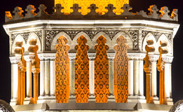 Torre de reloj histórica de Esmirna Imagen de archivo