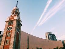 Torre de reloj de Hong-Kong imágenes de archivo libres de regalías