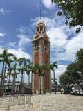 Torre de reloj de Hong-Kong imagen de archivo libre de regalías