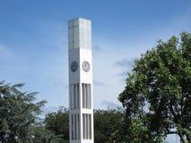 Torre de reloj moderna Fotografía de archivo libre de regalías
