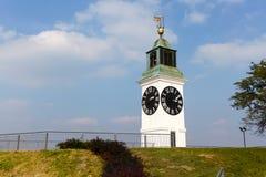 Torre de reloj, Novi Sad Foto de archivo libre de regalías