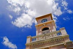 Torre de reloj, Phuket Tailandia Imágenes de archivo libres de regalías