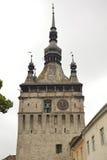 Torre de reloj vieja, Sighisoara, Rumania Fotos de archivo libres de regalías