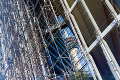 Torre de Rheinturm Fotografia de Stock Royalty Free