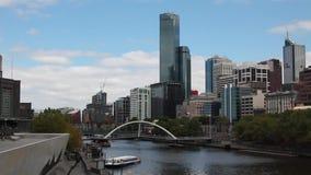Torre de Rialto em Melbourne central filme