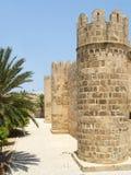 Torre de Ribat (fortaleza) en la ciudad de Sousse Fotografía de archivo libre de regalías