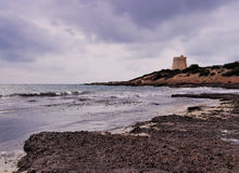 Torre de sa Sal Rossa, Ibiza Royalty Free Stock Photography