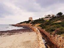 Torre de sa Sal Rossa, Ibiza Royalty Free Stock Photo