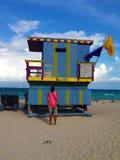 Torre de salvavidas Fotografía de archivo libre de regalías