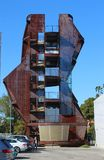 Torre de Samitaur, arquitectura caprichosa construida por las construcciones de Samitaur en Los Ángeles Imágenes de archivo libres de regalías