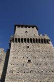 Torre de San Marino segundo fotos de stock royalty free