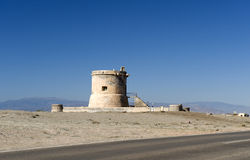 Torre De San Miguel near Cabo De gata Royalty Free Stock Photos