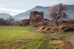 Torre de Sancho el la primavera Fotografía de archivo