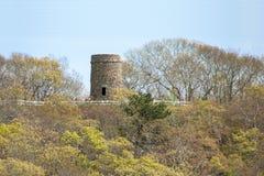 Torre de Scargo perto do lago Scargo, Cape Cod Imagem de Stock