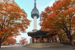 Torre de Seoul fotografia de stock