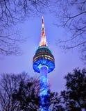 Torre de Seoul Fotos de Stock Royalty Free
