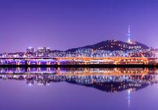Torre de Seoul foto de stock royalty free