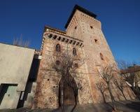 Torre de Settimo en Settimo Torinese Imagen de archivo libre de regalías