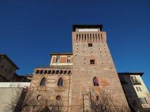 Torre de Settimo en Settimo Torinese Imagen de archivo