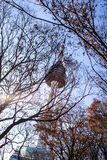 Torre de Seul Fotografía de archivo libre de regalías