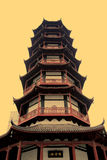 Torre de Shengin em Nanchang, jiangxi, China Imagens de Stock Royalty Free