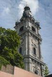 Torre de sino barroco de Mons imagens de stock royalty free