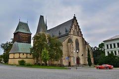 Torre de sino da igreja Fotografia de Stock