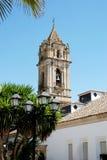 Torre de sino da igreja, Cabra Imagens de Stock Royalty Free