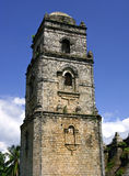 Torre de sino da igreja de Paoay Foto de Stock