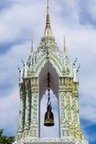 Torre de sino da silhueta em Avila, spain foto de stock royalty free