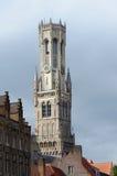 Torre de sino de Bruges Imagens de Stock