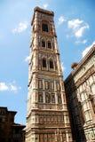 Torre de sino de Florença foto de stock royalty free