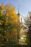 Torre de sino de Kuskovo imagem de stock royalty free