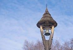 Torre de sino de madeira Imagem de Stock Royalty Free