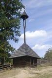 Torre de sino de madeira Fotografia de Stock Royalty Free