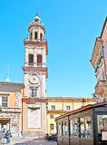 A torre de sino de St Paul Monastery Imagem de Stock Royalty Free