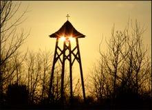 Torre de sino de Sunpeek Imagem de Stock Royalty Free