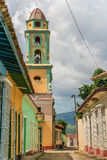 Torre de sino de Trinidad Fotos de Stock Royalty Free