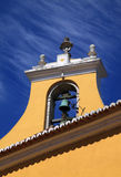 Torre de sino do baroque de Portugal Lisboa Oeiras imagem de stock royalty free