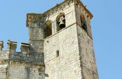Torre de sino do castelo Fotografia de Stock