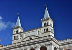 Torre de sino do St John Lateran Basilica dois fotografia de stock royalty free