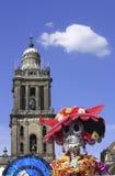 Torre de sino e morte Fotografia de Stock