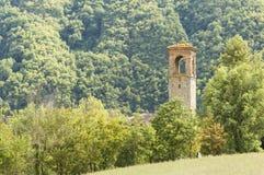 Torre de sino italiana dos cumes Imagens de Stock Royalty Free