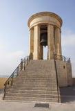 Torre de sino memorável da guerra, Valletta foto de stock royalty free
